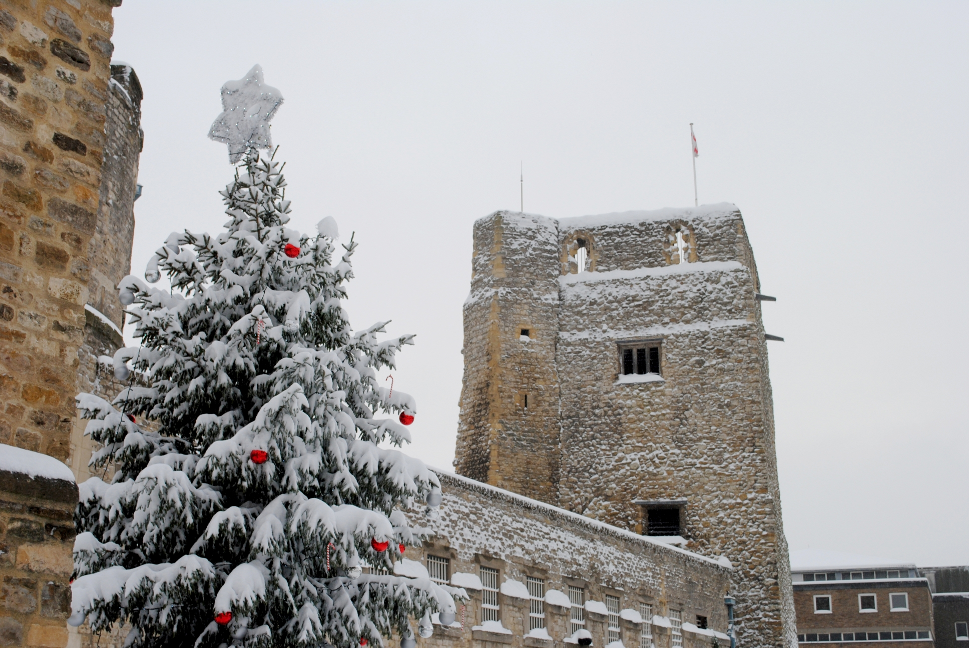 Christmases past at Oxford Castle