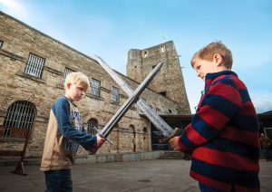 Children with Swords